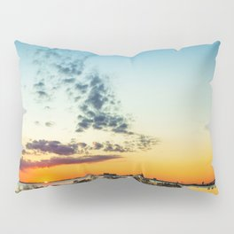 Gulf Coast Sunset Pano Pillow Sham