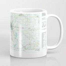 IN Muncie 156026 1986 topographic map Coffee Mug