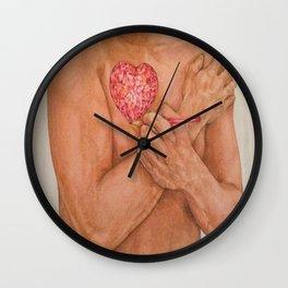 Embrace love Drawing Wall Clock