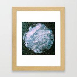 Full Snow Moon Framed Art Print