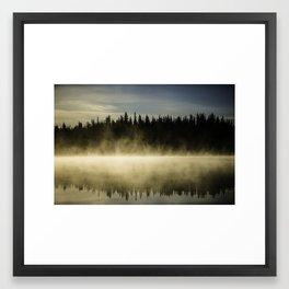 Morning mirror - 2 Framed Art Print