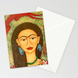 My homage to Frida Stationery Cards