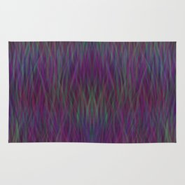 Multi- coloured Grass Design Rug