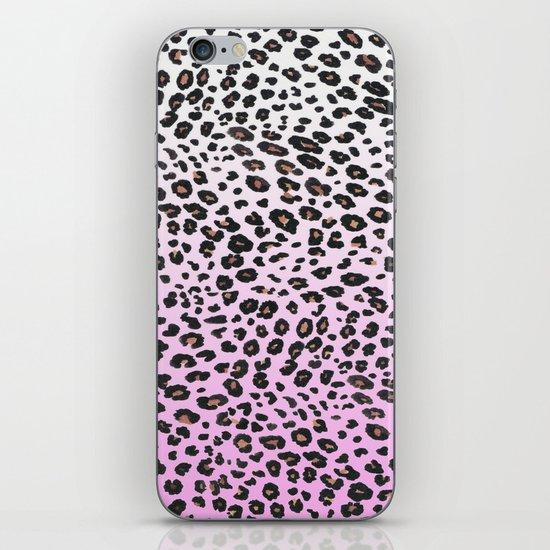PINK LEOPARD  iPhone Skin