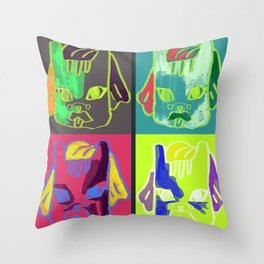Neo Pop Throw Pillow