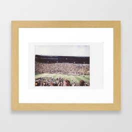 Script Ohio at the Big House Framed Art Print