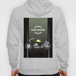 vintage motorcycle poster vector illustration Hoody