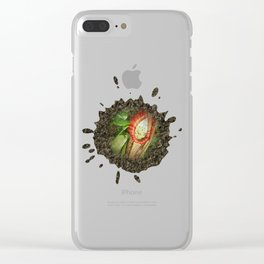 Splash of nature Clear iPhone Case