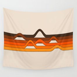 Golden Wavelength Wall Tapestry