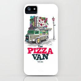 "Javier Arres T-shirt/camiseta ""The Pizza Van"" iPhone Case"