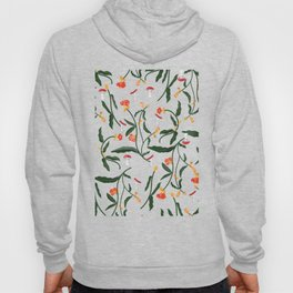 Mushrooms and Flowers Hanging Out Hoody
