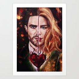Oliver/Felicity Art Print