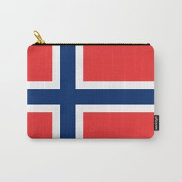 Norway Flag Norwegian Patriotic Carry-All Pouch