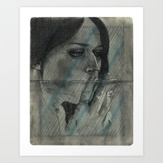 Obscure, Destroy Sketchbook Spread 2 Art Print