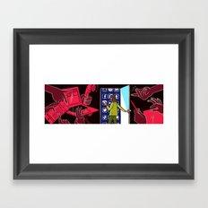 Hiding in Plain E-sight Framed Art Print