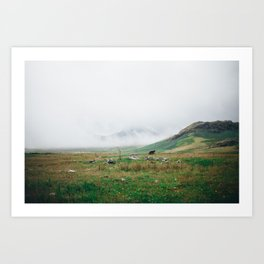 Lake District (2) Art Print