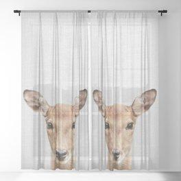 Doe 2 - Colorful Sheer Curtain