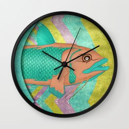 Wreckfish Wall Clock