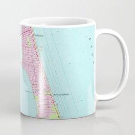 Vintage Map of Melbourne Florida (1949) Coffee Mug