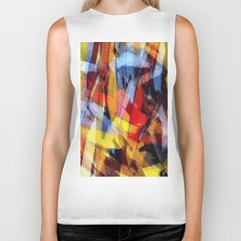 abstrakt 53 color Biker Tank