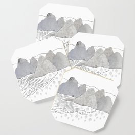 Into The Forest - John Muir quote Coaster