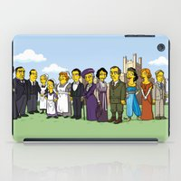 downton abbey iPad Cases featuring Downton Abbey cast by Adrien ADN Noterdaem