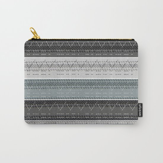Morse Code Stripe Carry-All Pouch