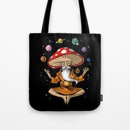 Buddha Magic Mushroom Tote Bag