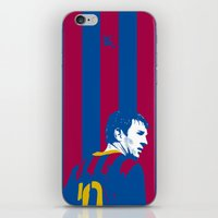 messi iPhone & iPod Skins featuring Messi Barcelona by lockerroom51