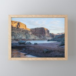Autumn Morning in Croton Canyon Framed Mini Art Print