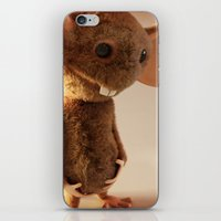 rat iPhone & iPod Skins featuring Rat by timecore
