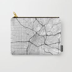 Los Angeles Map Gray Carry-All Pouch