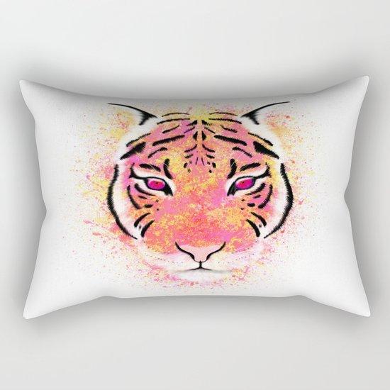 Sherbet Tiger Rectangular Pillow