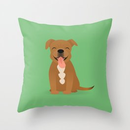 Bam Bam Throw Pillow