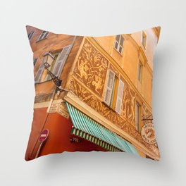 Nice France 5669 Throw Pillow