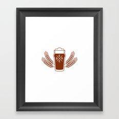 Beer. Framed Art Print