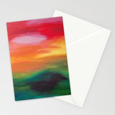 Whats behind the next hill? Stationery Cards