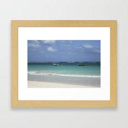 Carribean sea 12 Framed Art Print