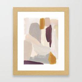 Plumb Crazy Framed Art Print