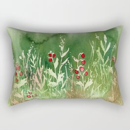 Strawberry Fields for an Indefinite Amount of Time Rectangular Pillow