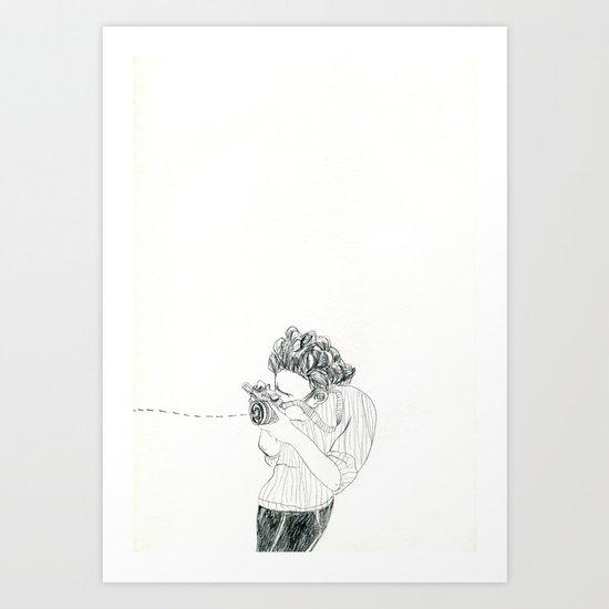 Shoot! Art Print