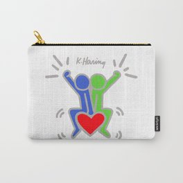 Love Each Other - Keith Haring Carry-All Pouch