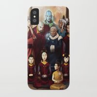 aang iPhone & iPod Cases featuring Aang and Katara's Legacy by Meder Taab