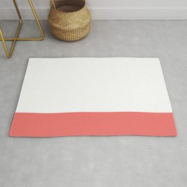 Dipped in Coral Rug