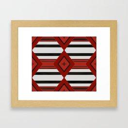Chief Blanket 1800's Framed Art Print