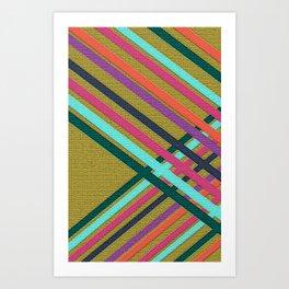 Lines/lineas Art Print