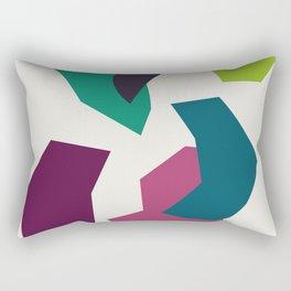 Abstract No.16 Rectangular Pillow