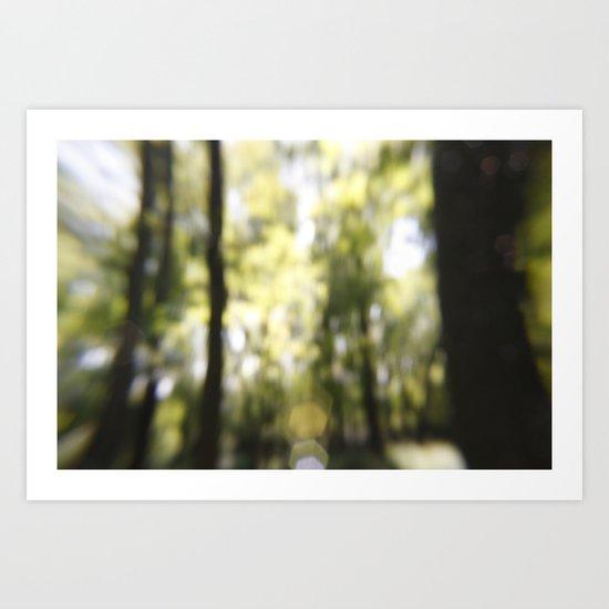 Embrace The Blur Art Print