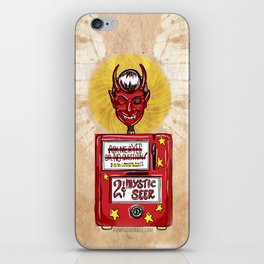 Twilight Zone Mystic Seer iPhone Skin