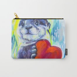 Otterly Mad About You Carry-All Pouch